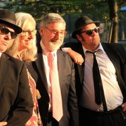 'Blues Brothers' Director John Landis with wife Deborah Nadoolman-Landis on the red carpet in September 2016
