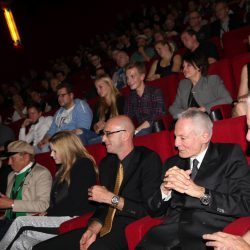 In the cinema with actor Dieter Laser during the 4th Cinestrange in 2015